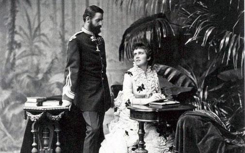 Regele Carol și Regina Elisabeta ai României - foto preluat de pe europolitics.ro