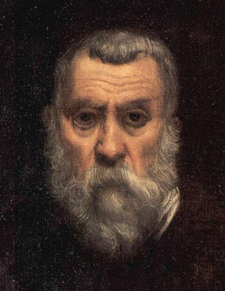Jacopo Comin zis Tintoretto (n. 29 septembrie 1518, Veneția, d. 31 mai 1594 ibidem) a fost unul dintre cei mai mari reprezentanți ai școlii venețiene de pictură, marcând trecerea spre curentul manierist apărut în perioada de maturitate a Renașterii - (Detaliu din autoportret) - foto preluat de pe ro.wikipedia.org