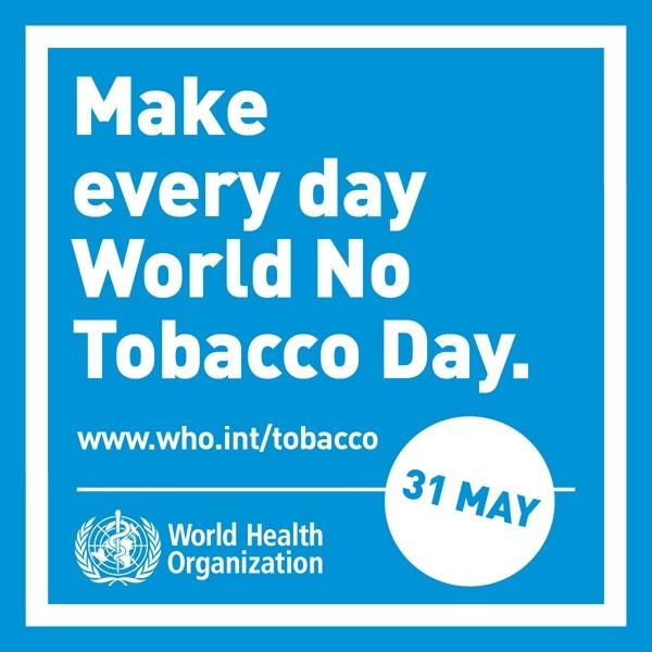 Ziua mondială fără tutun - foto preluat de pe www.who.int