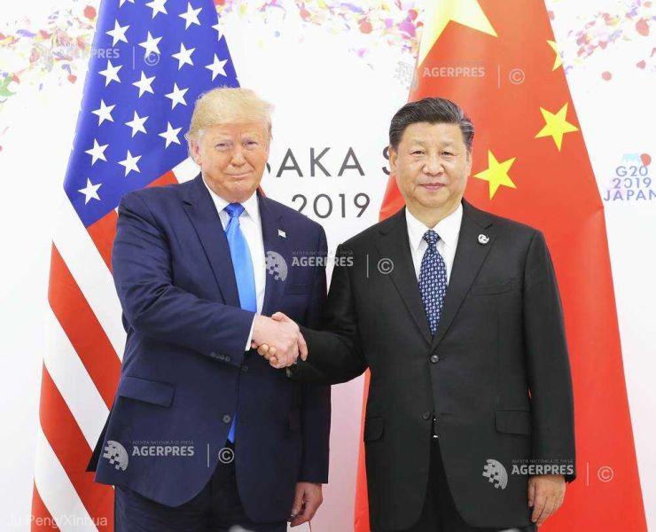 Donald Trump, şi Xi Jinping (G20, 29 iunie 2019) - foto preluat de pe www.agerpres.ro
