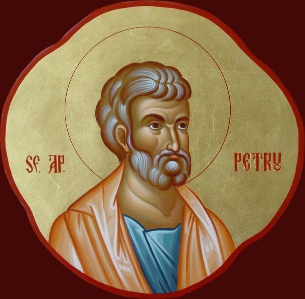 Sfântul Apostol Petru (†67) - foto preluat de pe doxologia.ro