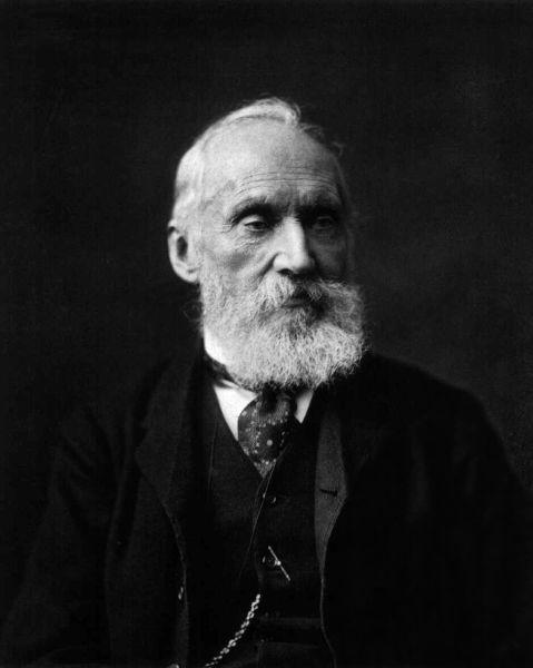 Sir William Thomson, din 1892 Lord Kelvin (n. 26 iunie 1824, Belfast, Regatul Unit al Marii Britanii și Irlandei – d. 17 decembrie 1907, Largs, Regatul Unit al Marii Britanii și Irlandei), a fost un fizician britanic, renumit îndeosebi prin lucrările sale științifice în domeniul termodinamicii - foto preluat de pe en.wikipedia.org
