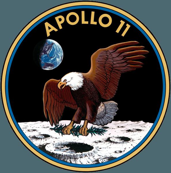 Apollo 11, insigna misiunii - foto preluat de pe en.wikipedia.org