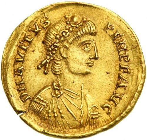 Marcus Flavius Avitus (Eparchius) (n. ~400 - d. 18 august 457) a fost împărat roman în perioada 455-456 - foto preluat de pe en.wikipedia.org