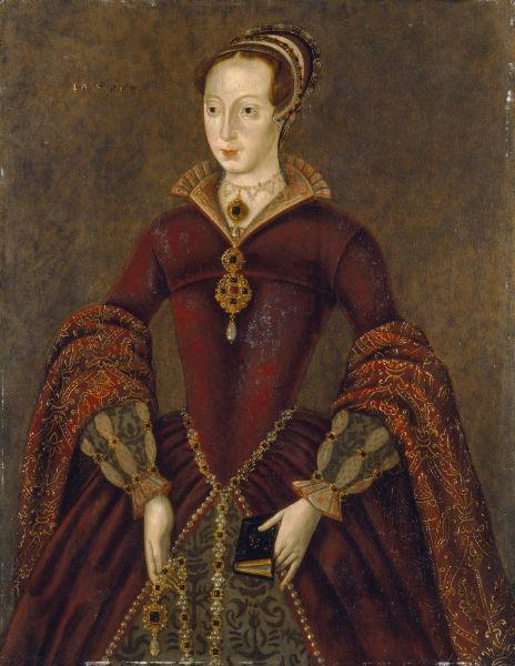 Jane Grey (n. 12 octombrie 1537 Leicestershire - d. 12 februarie 1554), cunoscută şi cu numele de Regina celor nouă zile, a fost regină a Angliei doar pentru nouă zile (10 iulie 1553 - 19 iulie 1553) - (The Streatham portrait, discovered at the beginning of the 21st century and believed to be a copy of a contemporaneous portrait of Lady Jane Grey) - foto preluat de pe ro.wikipedia.org