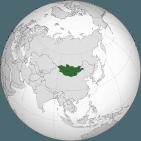 Mongolia (în mongolă: Монгол Улс) este o ţară din Asia Centrală, republică parlamentară, care se învecinează la nord cu Rusia, la sud şi est cu Republica Populară Chineză, iar graniţa de vest se află la o mică distanţă de Kazahstan - foto preluat de pe ro.wikipedia.org