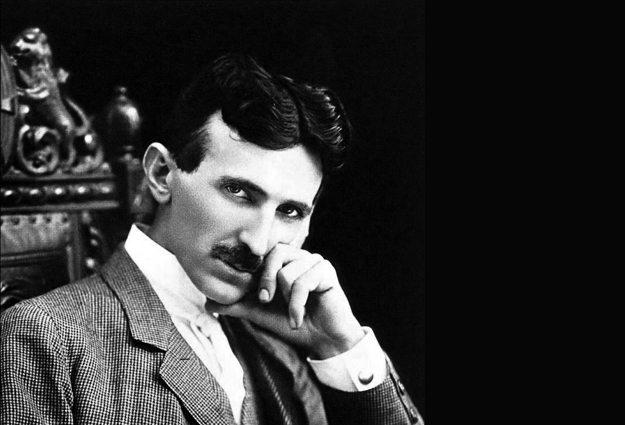 Nikola Tesla (1856 – 1943) - foto cca. 1896