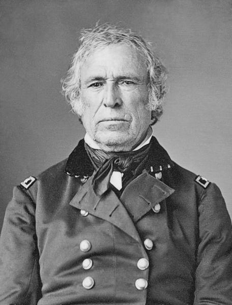 """Zachary Taylor (n. 24 noiembrie 1784 - d. 9 iulie 1850), cunoscut ca și """"Old Rough and Ready"""", a fost cel de-al doisprezecelea președinte al Statelor Unite ale Americii, fiind în funcție între 1849 și 1850 - foto preluat de pe en.wikipedia.org"""