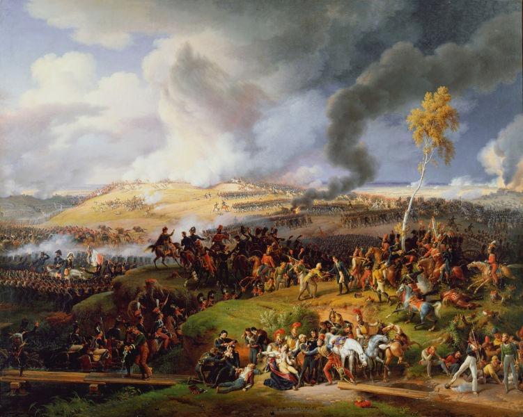 Battle of Moscow, 7th September 1812, 1822 by Louis-François Lejeune - foto preluat de pe en.wikipedia.org
