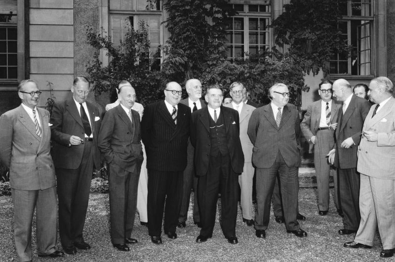 The first meeting of our Committee of Ministers was held exactly 70 years ago - on 8 August 1949, at Strasbourg Town Hall. The session was opened by French Foreign Minister Robert Schuman. The Ministers invited Greece and Turkey to join the organisation, which they did on 9 August 1949 - the very next day! - foto preluat de pe www.facebook.com