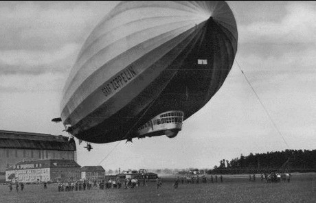"Dirijabilul LZ 127 ""Graf von Zeppelin"" - foto preluat de pe ro.wikipedia.org"