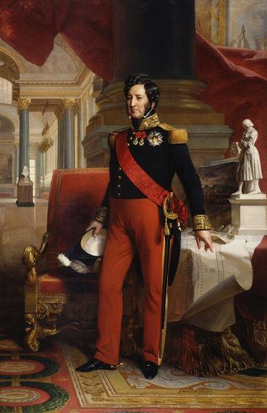 Ludovic-Filip de Orléans (n. 6 octombrie 1773, Paris - d. 26 august 1850, Surrey, Anglia) a fost rege al francezilor în perioada Monarhiei din Iulie între 1830 și 1848. Face parte din dinastia Bourbon-Orléans - Portrait by Franz Xaver Winterhalter, 1841 - foto preluat de pe en.wikipedia.org