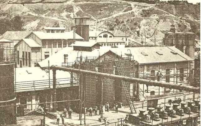 Uzinele miniere din Lupeni în 1929 - foto preluat de pe adevarul.ro