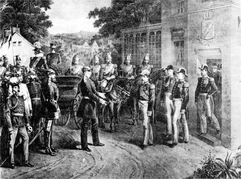 Bătălia de la Sedan (1 - 2 septembrie 1870) Parte din Războiului Franco-Prusac (Capitularea lui Napoleon al III-lea) - foto preluat de pe ro.wikipedia.org