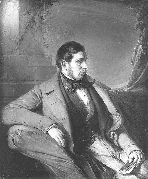 Nikolaus Lenau, născut Nikolaus Franz Niembsch von Strehlenau, (n. 25 august 1802 în Csatád, comitatul Timiş, azi Lenauheim, judeţul Timiş - d. 22 august 1850 la Oberdöbling bei Wien, Austria), a fost un important poet romantic austriac - foto preluat de pe ro.wikipedia.org