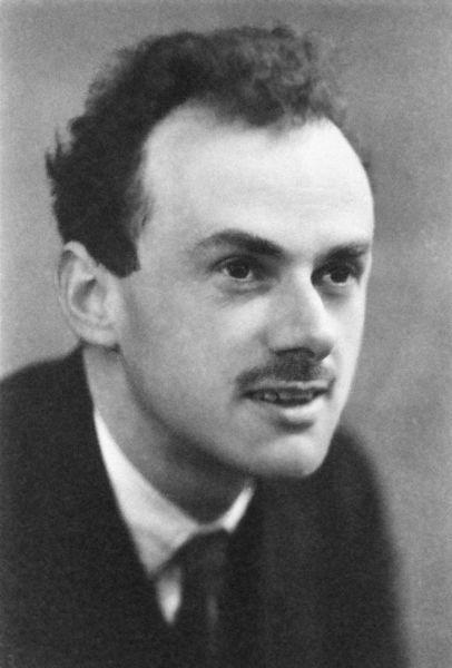 Paul Adrien Maurice Dirac (n. 8 august 1902, Bristol, Regatul Unit al Marii Britanii şi Irlandei[19] – d. 20 octombrie 1984, Tallahassee, SUA) a fost un fizician britanic şi unul din fondatorii domeniilor mecanicii cuantice si a teoriei cuantice a câmpurilor - (Paul Dirac in 1933) - foto preluat de pe ro.wikipedia.org