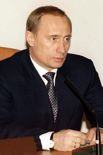 Putin in 1999 - foto preluat de pe en.wikipedia.org