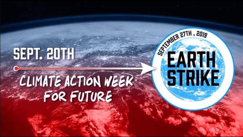 Global Climate Strike (20-27 septembrie 2019) - foto preluat de pe www.facebook.com