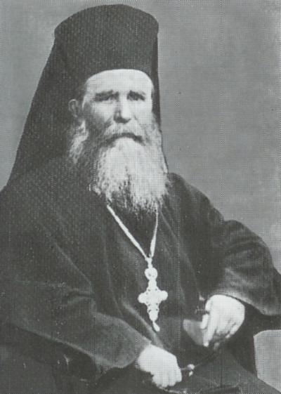 """Ioanichie Moroi (n. 1859 - d. 5 septembrie 1944, Mănăstirea Sihăstria) a fost un duhovnic ortodox, stareţ al Mănăstirii Sihăstria - (Protosinghelul Ioanichie Moroi - Protosinghel este un titlu distinctiv care se oferă preoților monahi în Biserica Ortodoxă, preot călugăr care a primit de la episcopul său rangul monahal """"protosinghel"""" - primul între singheli) - foto preluat de pe ro.wikipedia.org"""