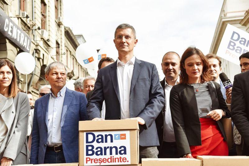 Dan Barna - Președinte USR - foto preluat de pe www.facebook.com