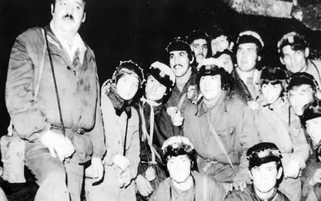 Minerii din Motru au participat la o amplă mişcare anticomunistă - foto preluat de pe adevarul.ro