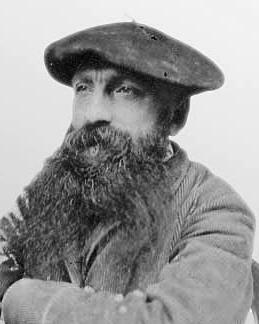 Auguste Rodin (născut François-Auguste-René Rodin) (n. 12 noiembrie 1840, Paris - d. 17 noiembrie 1917, Meudon-la-Forêt) a fost un sculptor, grafician şi pictor francez în a doua jumătate a secolului al XIX-lea şi începutul secolului XX - foto preluat de pe ro.wikipedia.org