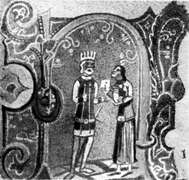 Bătălia de la Posada (9 - 12 noiembrie 1330) - Solul muntean aduce oferta de pace regelui ungar - foto preluat de pe ro.wikipedia.org