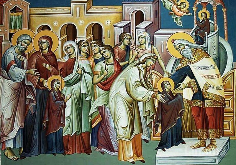 Intrarea în biserică a Maicii Domnului (21 noiembrie) - foto preluat de pe ziarullumina.ro
