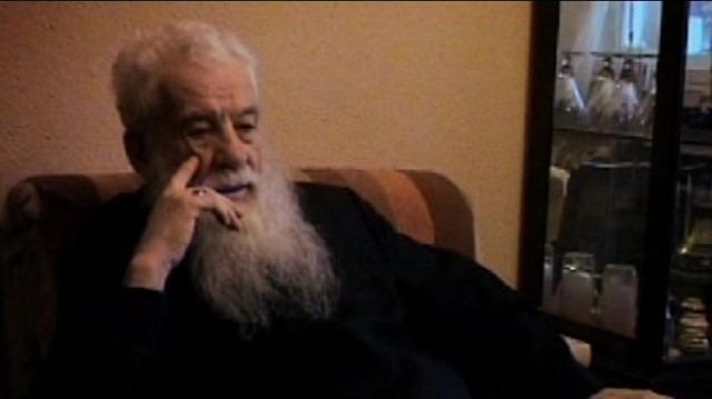 Gheorghe Calciu-Dumitreasa (1925 - 2006) - foto preluat de pe tvr2.tvr.ro