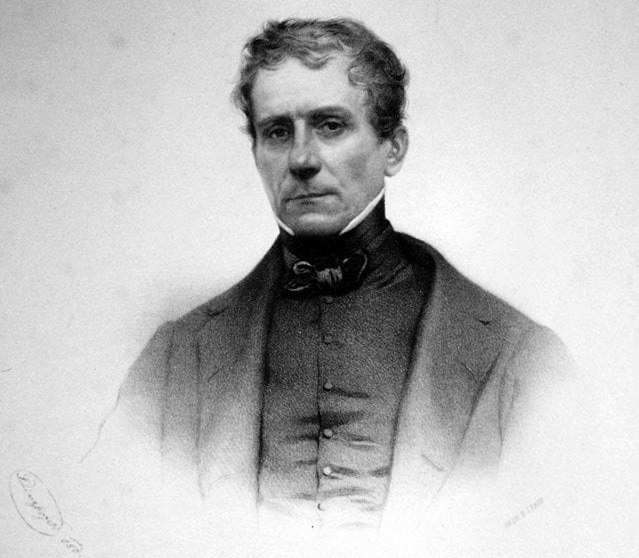 Stephan Ludwig Roth (n. 24 noiembrie 1796, Mediaș - d. 11 mai 1849, Cluj) a fost un gânditor umanist, istoric, profesor și pastor luteran sas din Transilvania, participant la Revoluția de la 1848 - foto preluat de pe stiriletransilvaniei.ro