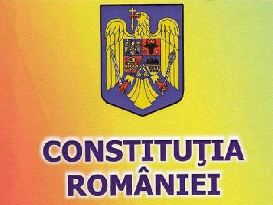 Constituția României - foto preluat de pe www.rri.ro