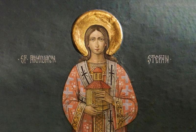 Sfântul Ap., întâiul Mc. şi Arhidiacon Ştefan (1/5 - 33/36 d.Hr.) - foto preluat de pe ziarullumina.ro
