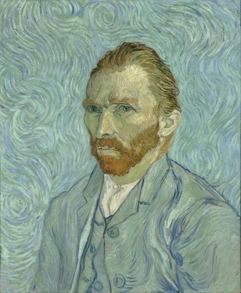 Vincent Van Gogh (n. 30 martie 1853, Groot Zundert, Olanda, d. 29 iulie 1890, Auvers sur Oise, Franța) a fost un pictor olandez post-impresionist - Self-Portrait, 1889, Musée d'Orsay - foto preluat de pe en.wikipedia.org