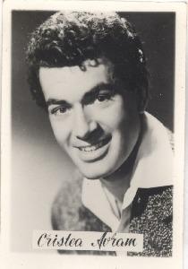 Cristea Avram (n. 28 august 1931, București, România – d. 10 ianuarie 1989, Roma, Italia) a fost un actor român - foto preluat de pe ro.wikipedia.org