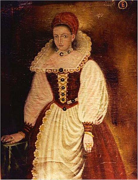 Elisabeta Báthory, căsătorită Nádasdy, (în maghiară Báthory Erzsébet, n. 7 august 1560, Nyírbátor – d. 21 august 1614, Csejte, azi Čachtice, Slovacia), a fost o contesă maghiară din familia Báthory, cunoscută pentru infamiile comise prin torturarea și uciderea a câtorva sute de fete (Copy of the lost 1585 original portrait) - foto preluat de pe ro.wikipedia.org