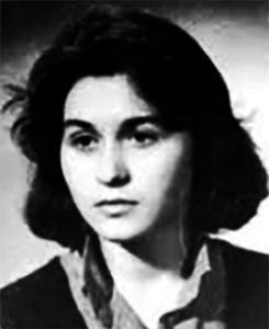 Irina Andone (n. 10 ianuarie 1968, Iași – d. 2 octombrie 1998, Iași) a fost o poetă și eseistă română - foto preluat de pe www.bunicutavirtuala.com