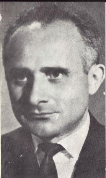Nicolae Balotă (n. 26 ianuarie 1925, Cluj - d. 20 august 2014, Nice) a fost un eseist, critic, istoric şi teoretician literar român - (Fotografie publicată în 1981) - foto preluat de pe ro.wikipedia.org