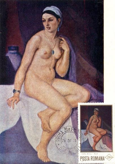 """Nud"" (1971) - Camil Ressu - foto preluat de pe en.wikipedia.org"