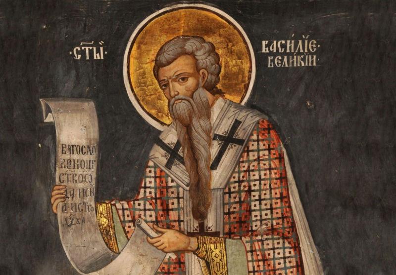 †) Sf. Ier. Vasile cel Mare, arhiepiscopul Cezareei Capadociei - foto preluat de pe ziarullumina.ro