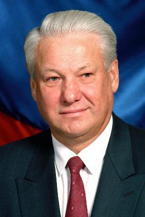 Boris Nikolaievici Elțîn (n. 1 februarie 1931 în Sverdlovsk [azi Ekaterinburg], Rusia, URSS - d. 23 aprilie 2007), a fost, în 1991, primul președinte al Rusiei, precum și primul conducător din istoria acestei țări ales în mod direct - foto preluat de pe en.wikipedia.org