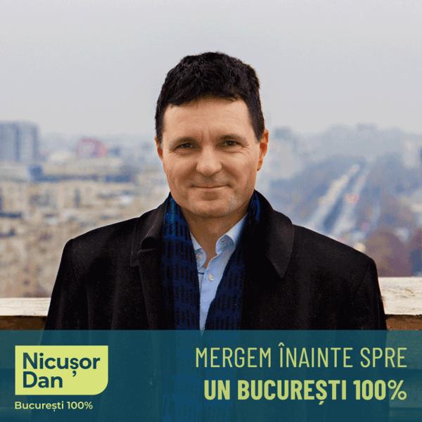 Nicușor Dan, candidat la Primăria Capitalei - foto preluat de pe www.facebook.com