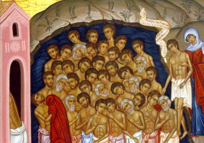 Sfinții 40 de mucenici din Sevastia (†320) - foto preluat de pe ziarullumina.ro