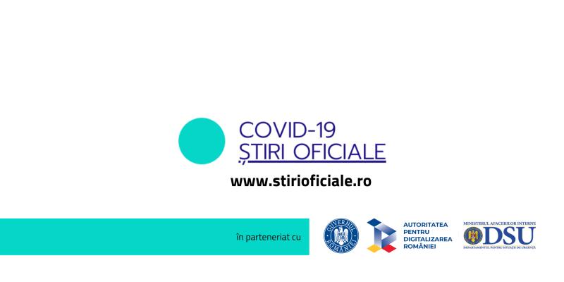 COVID-19 Ştiri Oficiale - foto preluat de pe www.facebook.com