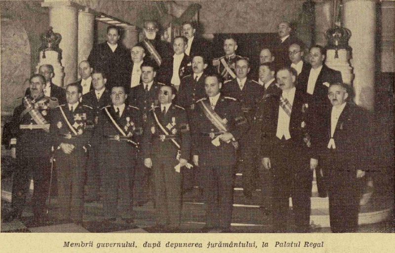 Guvernul Armand Călinescu - foto preluat de pe ro.wikipedia.org