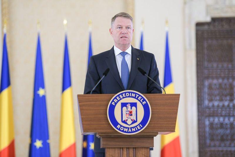 Klaus Iohannis - Președintele României - foto preluat de pe www.facebook.com
