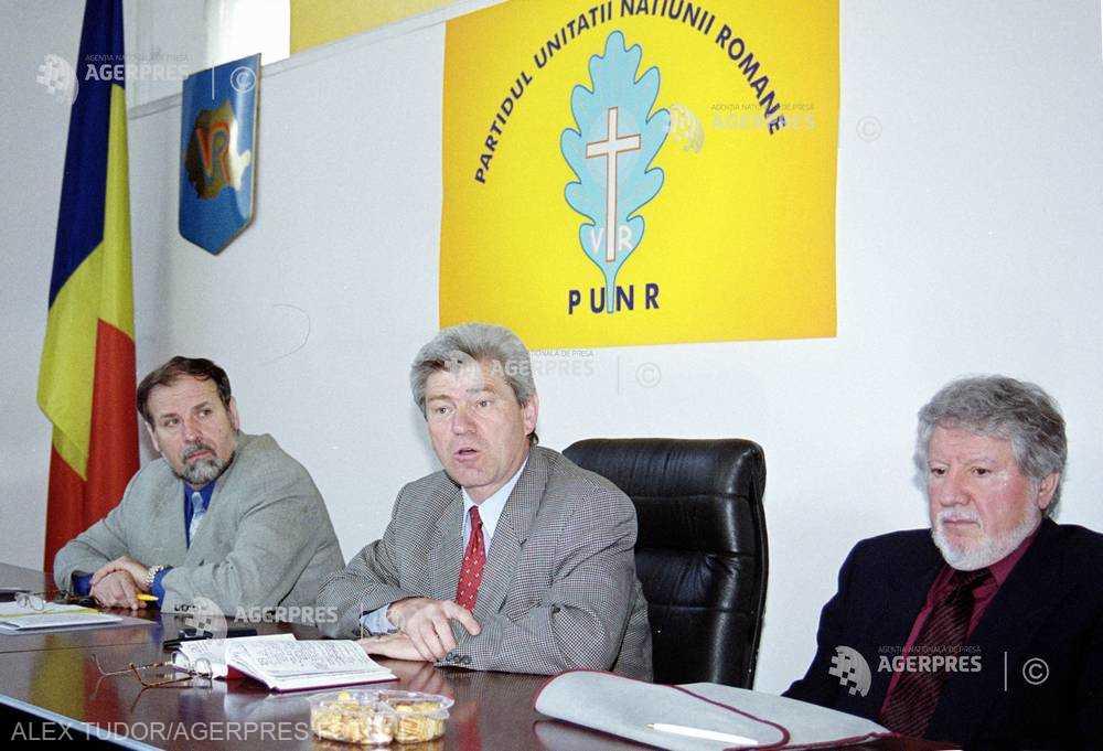 Partidului Unităţii Naţionale Române (PUNR) - foto preluat de pe www.agerpres.ro