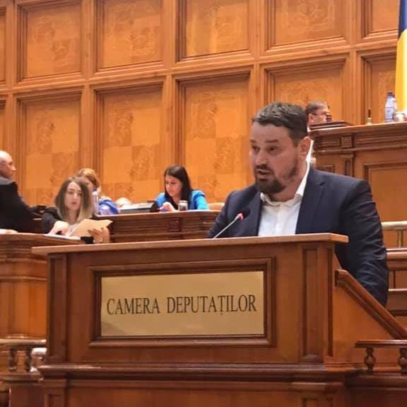 Alin Arsu - Deputat USR de București - foto preluat de pe www.facebook.com