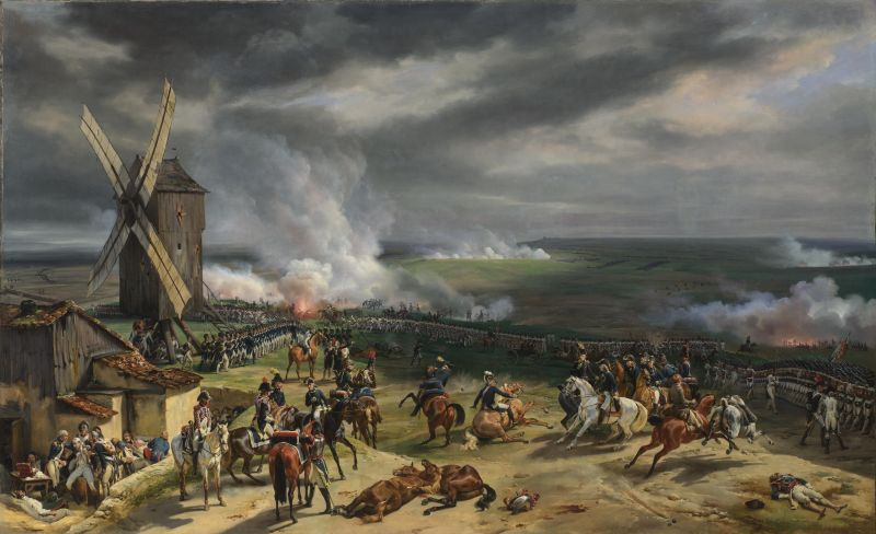 Bătălia de la Valmy (20 septembrie 1792) - Painting of the Battle of Valmy by Horace Vernet from 1826 - foto preluat de pe ro.wikipedia.org