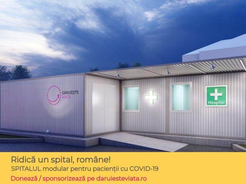 Asociatia Dăruiește Viață - Ridică un spital, române! - foto preluat de pe www.daruiesteviata.ro