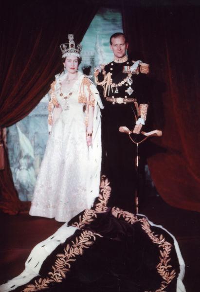 Încoronarea reginei Elisabeta a II-a, iunie 1953 - foto preluat de pe ro.wikipedia.org
